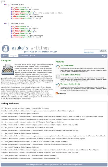 Authware Screenshot