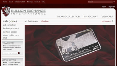 Bullion Exchange International Store