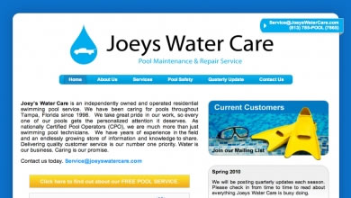 Joeys Water Care