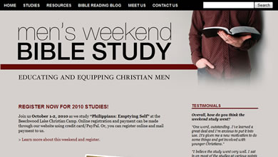 Men's Weekend Bible Study