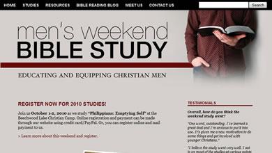 Men's Weekend Bible Study